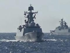 Russian, Chinese Warships Hold First Joint Patrols In Pacific Ocean