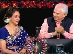 It Was A Mini <i>Sholay</i> Reunion For Amitabh Bachchan, Hema Malini And Ramesh Sippy On The Sets Of <i>KBC 13</i>