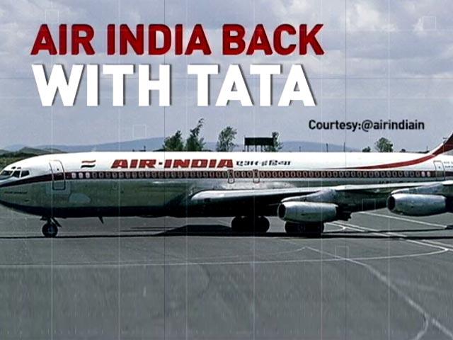 Video : Air India Returns To The Tatas