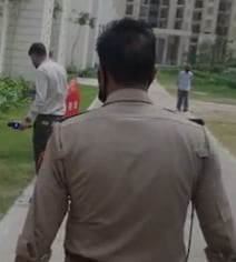 Twins Fall To Death From 25th Floor In UP's Ghaziabad In Midnight Horror