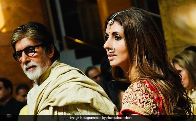 Trending: Shweta Bachchan's Reaction To Dad Amitabh Bachchan's 'Walking Into The 80th' Post