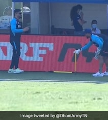 Watch: MS Dhoni Gives Keeping Lessons To Rishabh Pant In Dubai