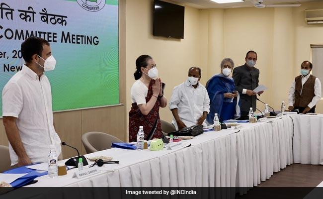 """I Am Full-Time President"": Sonia Gandhi To 'G-23' At Key Congress Meet"