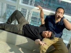 "<I>Sooryavanshi</i> - ""Don't Record"": Akshay Kumar And Rohit Shetty Shout As Katrina Kaif Shows Their ""Excitement"" Level In ROFL Clip"