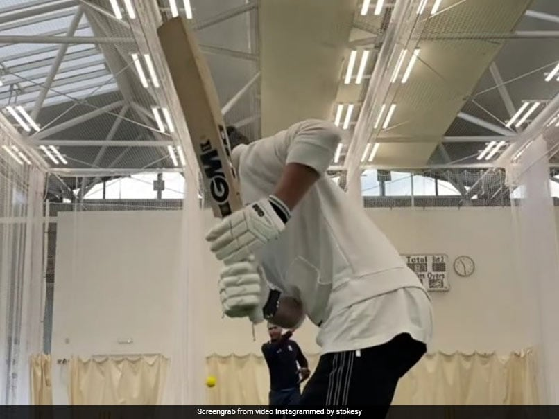 """Watch: Ben Stokes Returns To Training, RR Call It """"Sight For Sore Eyes"""""""