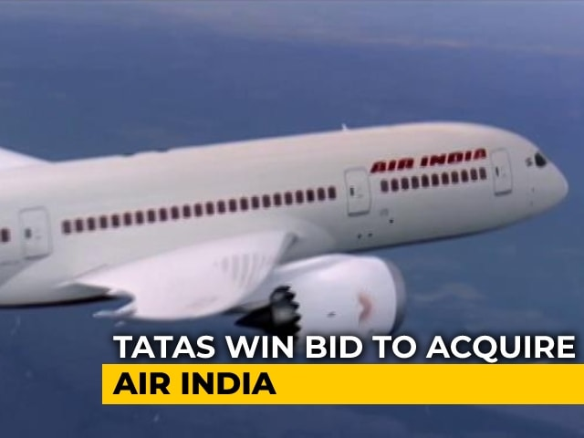Video : Air India Sold To Tatas For Rs 18,000 Crore
