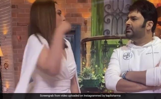 Kapil Sharma said something about Shatrughan Sinha that Sonakshi Sinha attacked Kapil in anger...Video Viral