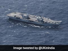 Royal Navy Carrier In Mumbai Is Britain's Indo-Pacific Tilt In Action: UK Minister