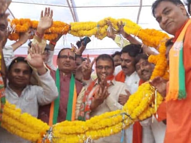 Video : Another Congress MLA Joins BJP in Madhya Pradesh, 27th Since Last Year