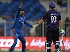 Watch: Afghanistan's Mujeeb Ur Rahman Picks 5 Wickets In The Space Of 16 Balls vs Scotland