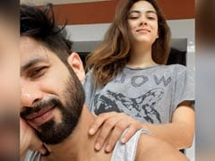 """Cayuties"" Shahid Kapoor And Mira Rajput Woke Up Like This Today"