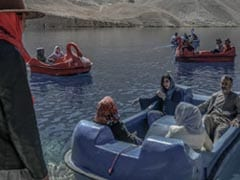 """Azure Waters, Limestone Cliffs: Tourists Return To Afghan """"Grand Canyon"""""""