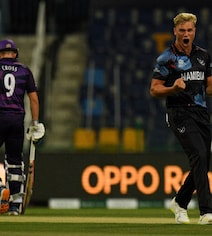 Watch: Namibia's Trumpelmann Picks Three Wickets In 1st Over vs Scotland