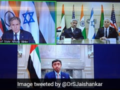 """""""Among Closest Relationships"""": India On 1st Key Meet With US, Israel, UAE"""
