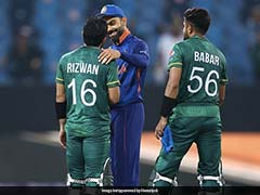 """""""Spirit Of Cricket"""": Virat Kohli, MS Dhoni Interact With Pakistan Players After Defeat, Win Hearts On Social Media. See Pics"""