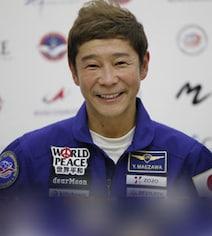 'Not Afraid': Japanese Billionaire Yusaku Maezawa Ahead Of ISS Launch