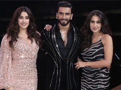 Here's What Ranveer Taught Sara And Janhvi On The Sets Of The Big Picture