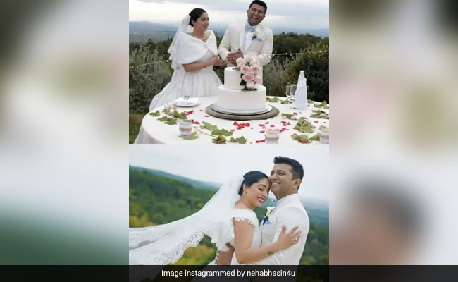 Neha Bhasin Wishes Husband On Anniversary With Throwbacks From Wedding