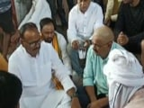 Video : UP Minister Meets Families Of BJP Worker, Driver Killed In Lakhimpur Kheri