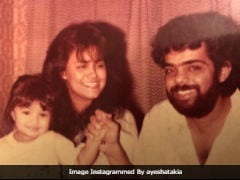 Ayesha Takia Has Always Been A Cutie. See Childhood Pic With Parents