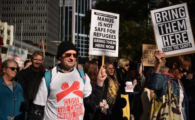 Thousands March In Australian Cities To Protest Refugee Detention Policy