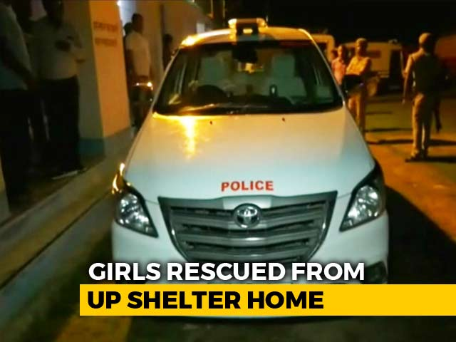 Video : 24 Girls Rescued From UP Shelter Home After One Escaped, Couple Arrested