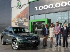 Skoda Makes Its One Millionth SUV