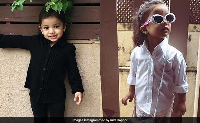 Today In Micro-Fashion: Shahid Kapoor And Mira Rajput's Daughter, Misha Kapoor