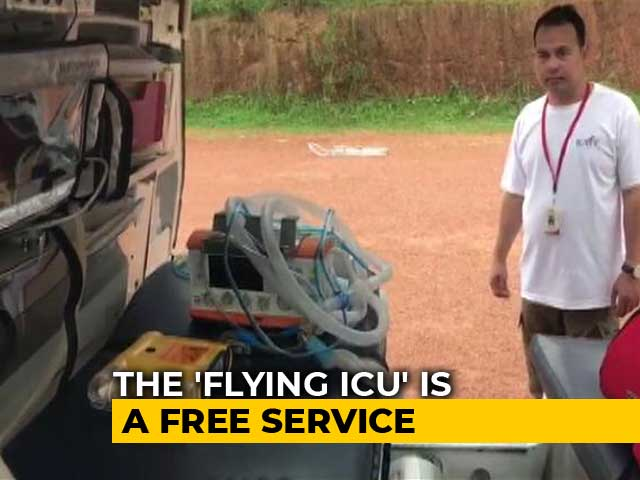 Video: How A 'Flying ICU' Is Saving Lives In Flood-Hit Kerala