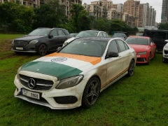 Here Are How Mumbai's Petrolheads 'Throttle97' Celebrated Independence Day