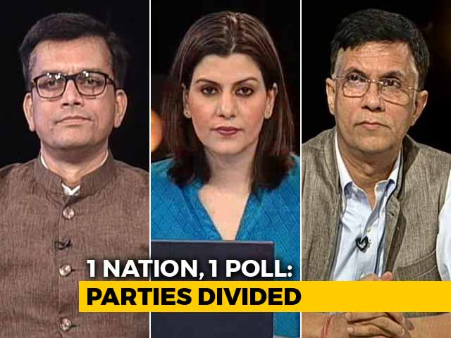 Video : BJP Pushes One Nation, One Poll: Are Simultaneous Polls A Good Idea?