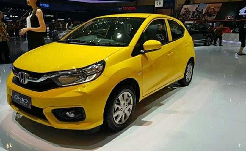 The 2019 Honda Brio is not confirmed for India yet