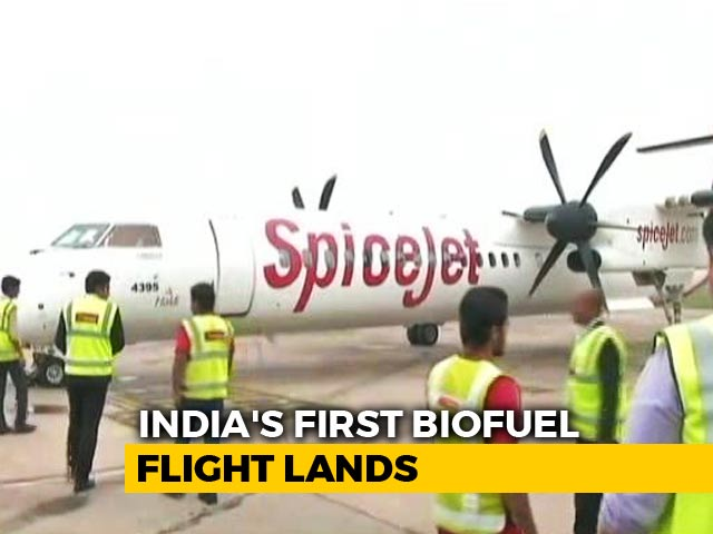 Video : A Plane That Runs On Fuel Made By 500 Families, A First In India