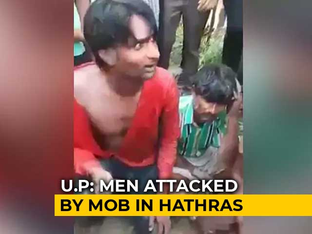 Video : Mob Attack In UP, Cops To The Rescue. 4 Men Assaulted Over Dead Buffalo