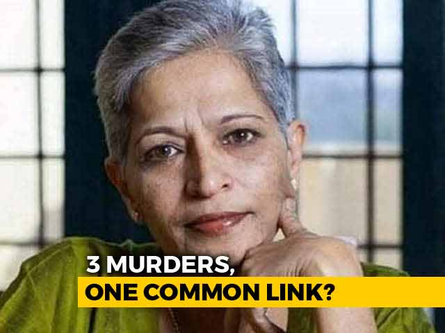 Video : After Dabholkar Shooter's Arrest, Links To Gauri Lankesh Murder Surface