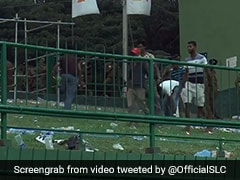 Watch: Sri Lankans Take A Leaf Out Of Japan's Book, Clean Stadium Post Loss
