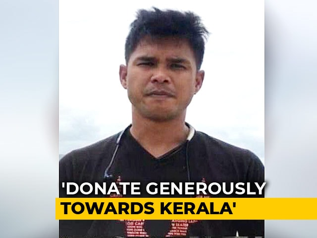 Video: Somdev Dev Varman Asks People To Donate Generously Towards Kerala