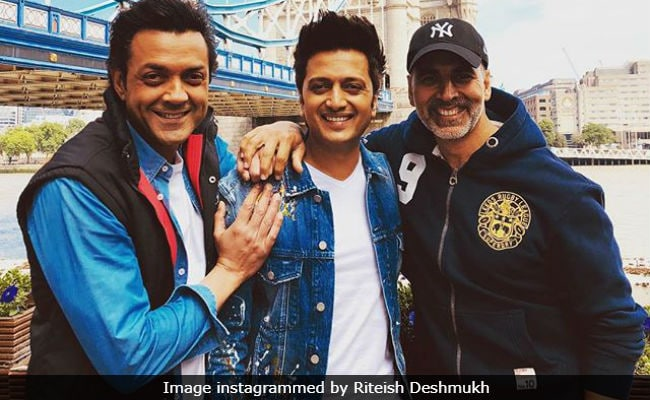 London Bridge's Housefull, Courtesy Akshay Kumar, Riteish Deshmukh And Bobby Deol