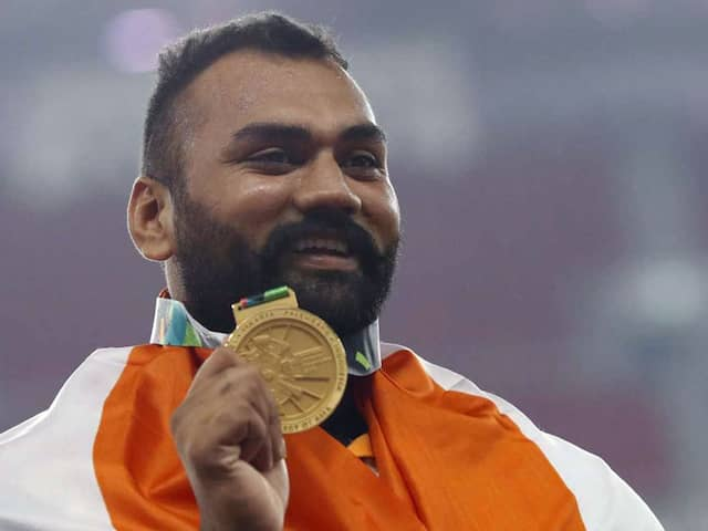 Asian Games 2018: Tajinderpal Singh Toor Clinches Mens Shot Put Gold With Record Throw