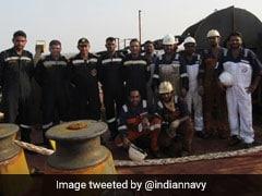 Indian Navy Helps Norwegian Ship In Gulf Of Aden