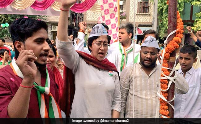 Talks Should Not Be On Name But On Work: AAP's Atishi