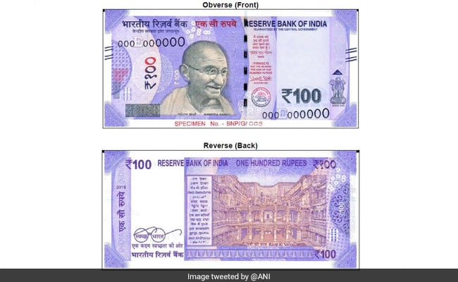 New Rs 100 Note Know All Features Of The New Currency Denomination