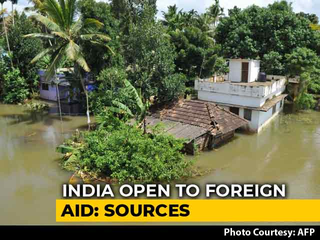 Video: Government Open To Accepting Foreign Aid For Kerala Floods, Say Sources