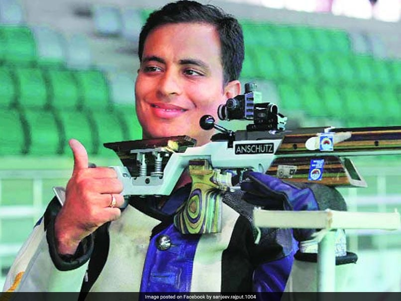 Asian Games 2018: Sanjeev Rajput Wins Silver In Mens 50m Rifle 3 Positions