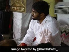 पाटीदार नेता हार्दिक पटेल की भूख हड़ताल तीसरे दिन भी जारी