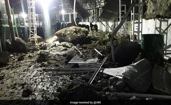 Landslide Forces Closure Of New Route To Vaishno Devi Shrine