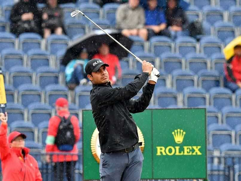Golfer Shubhankar Sharma Scores 73 In Final Round Of British Open