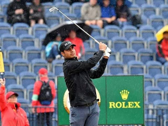Golfer Shubhankar Sharma Scores 73 In Final Round Of British Open