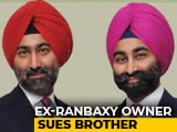 "Video : Fortis Co-Founder Shivinder Singh Sues Elder Brother For ""Mismanagement"""