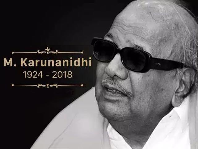 Video : Farewell To M Karunanidhi, Colossus Of Tamil Politics